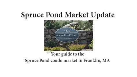 Masker Ponds weak spruce pond condo sales stats mask strength