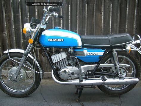 1972 suzuki t350 rebel time capsule