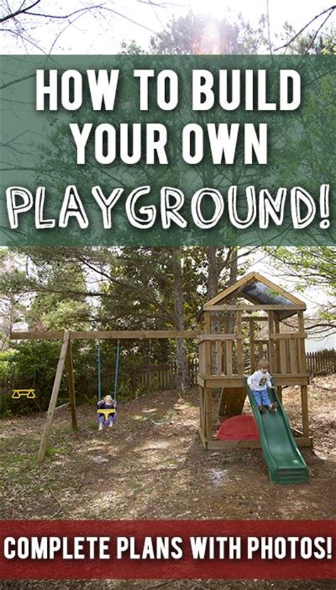 make your own swing build your own swing set parts and diy swing on pinterest