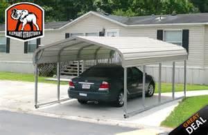 one car carport basic 1 car metal carport 12 x 21 x 5 for 595