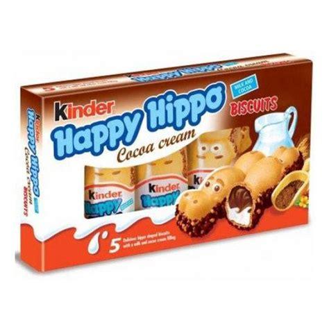 Kinder Happy Hippo Cocoa T5x20 7g happy hippo cocoa 20 7g x 5 kuwait chocolate
