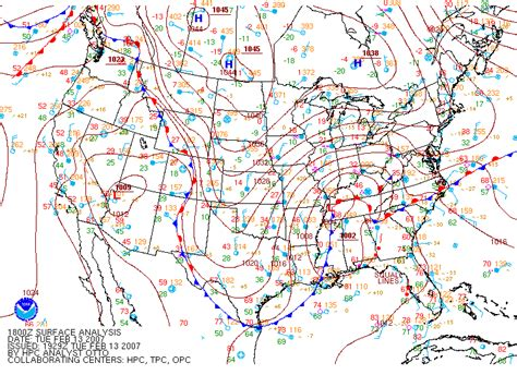 us weather map in february snow and february 13 14 2007 national