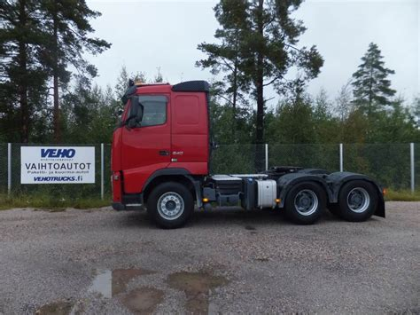 volvo fh 540 6x4 t used volvo fh 13 540 6x4 3200 tractor units year 2011
