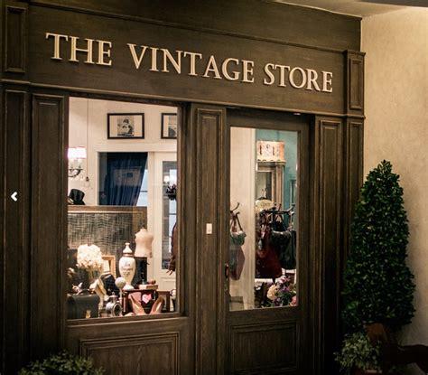 designer vintage shops