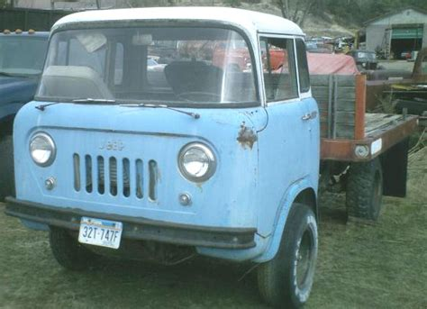 Willys Jeep Fc 170 For Sale 1962 Willys Jeep Fc 170 One Ton Forward Flatbed