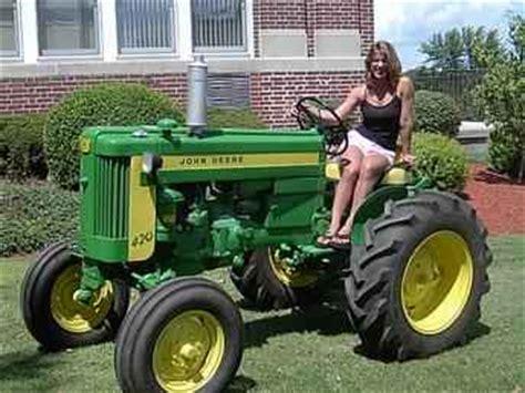 Used Farm Tractors For Sale Restored 1958 John Deere 420s