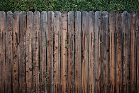 brown wooden fence 183 free stock photo
