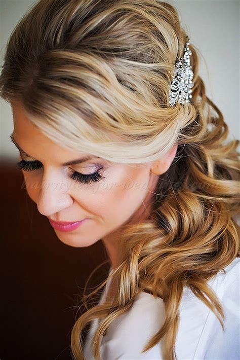 Wedding Hairdos Half Up Half Pictures by Half Up Wedding Hairstyles Half Up Half Wedding