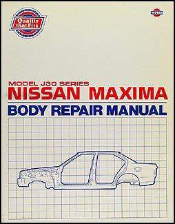 automotive service manuals 1994 nissan maxima engine control 1989 1994 nissan maxima body repair shop manual original