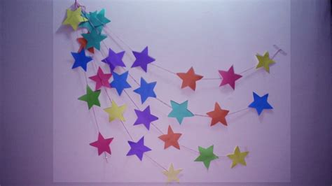 Wall Hanging Paper Craft - diy wall hanging craft ideas using colourful paper