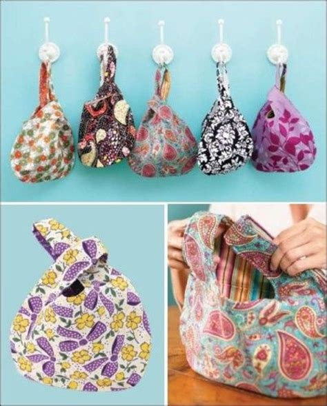 quilted adjustable japanese knot purse pdf pattern