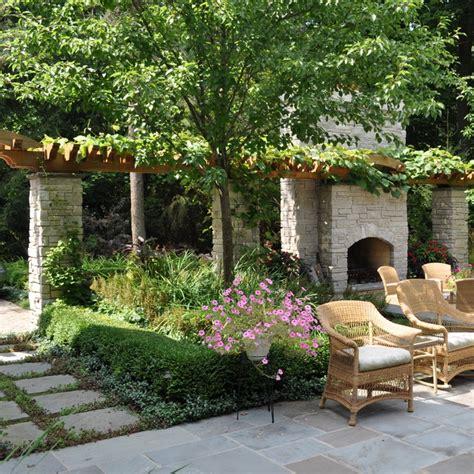 Backyard Ideas Chicago Wodarz Milieu Design Llc Traditional Landscape