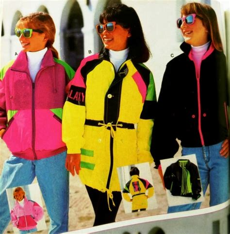 Graduate Fashion Week Trendwatch Nineties Neon by Throwback Thursday Skis Yes Enthuzed