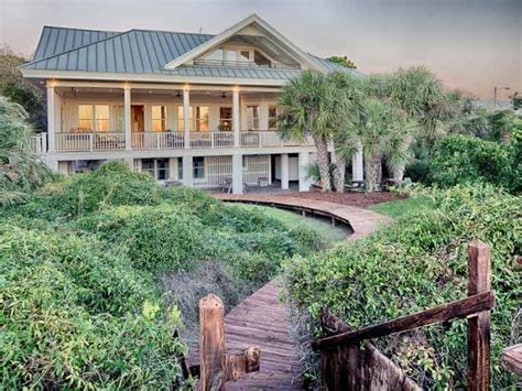 tybee houses home on tybee island with a fabulous screened porch