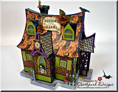 How To Make A Paper Haunted House - general castlepark designs