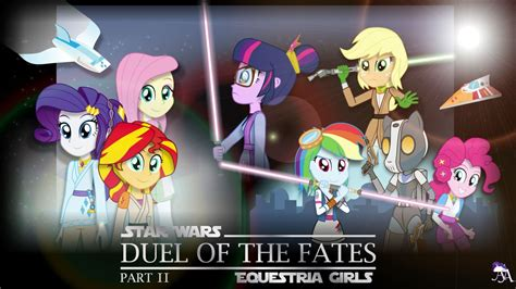 Gamis Rainbow Syari Kid duel of the fates part 2 mlp equestria x