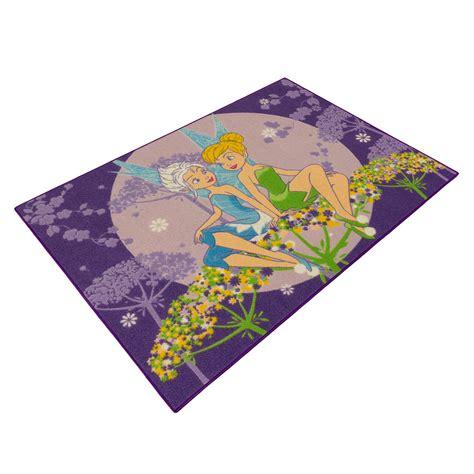 tinkerbell teppich tinkerbell teppich kinder disney m 228 dchenteppich lila 95x133cm