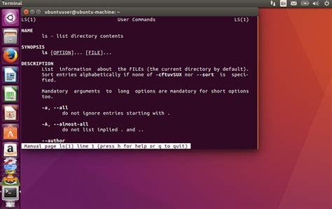 tutorial ubuntu command line ubuntu command line