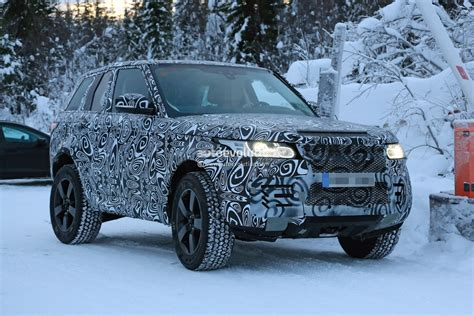 land rover defender 2020 spyshots 2020 land rover defender makes debut as
