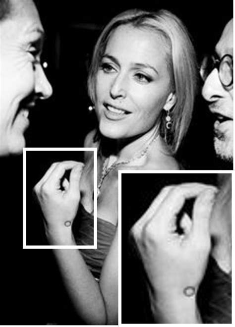 gillian anderson tattoo 21 best images about geometric tattoos on