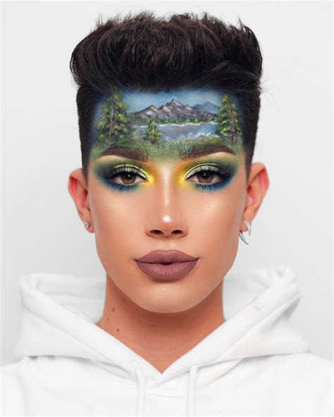 james charles bob ross forehead james charles on twitter quot hope bob ross would be proud
