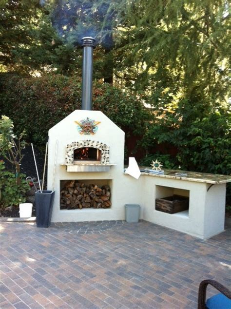 mugnaini outdoor wood fired ovens pizza oven eclectic