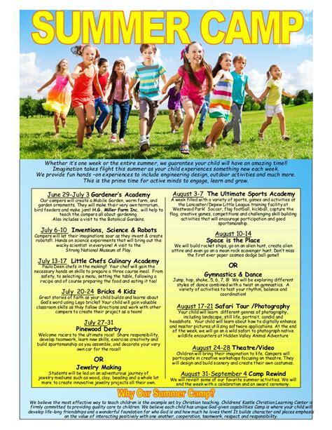 summer day camp central ave childrens kastle