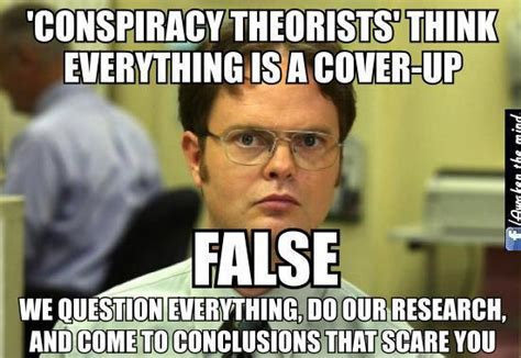 Conspiracy Theorist Meme - how the cia created the conspiracy theory label to shut