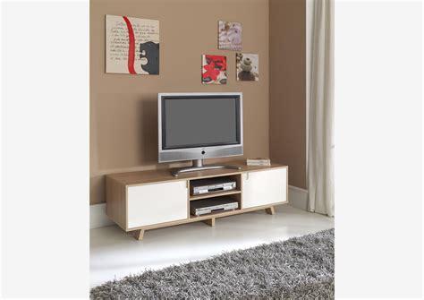 Meuble Tele Retro by Acheter Votre Meuble T 233 L 233 Bicolore Style R 233 Tro 2 Portes 1