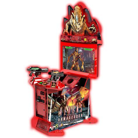 5 Gun Cabinet Aliens Armageddon Raw Thrills Inc