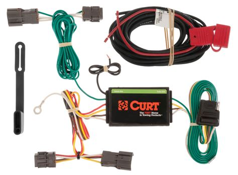 curt trailer hitch custom wiring harness connector 56163