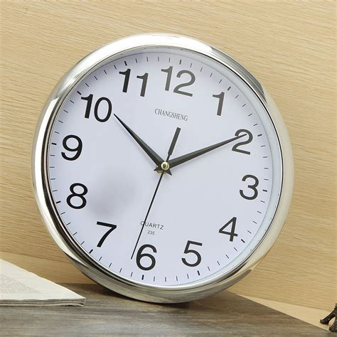 large antique vintage style wall clock modern home large vintage round modern home bedroom retro time kitchen