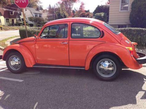 buy used volkswagen beetle buy used volkswagen classic beetle 1974 in ossining new