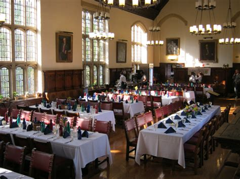 dining hall dining hall branford college
