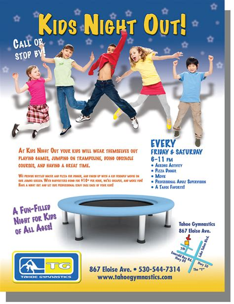 perspective are kids the advertisers shortcut to success kids night out ad highmark designs
