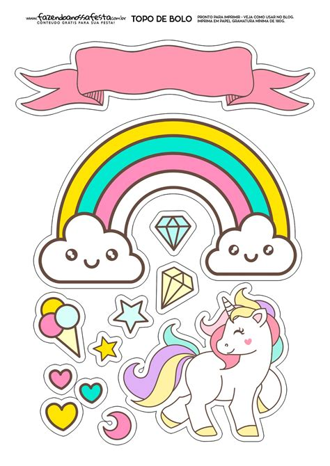 printable cake toppers unicorns free printable cake toppers oh my