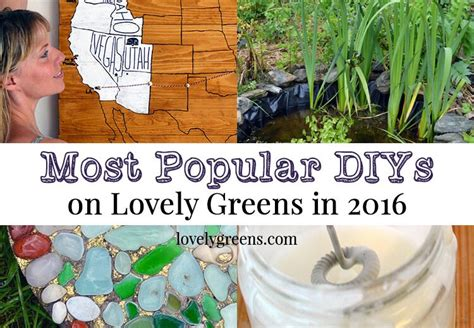 most popular diy projects 2016 lovely greens most popular diys from 2016