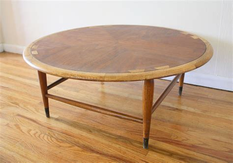 mid century modern round table mid century modern round lane acclaim coffee table