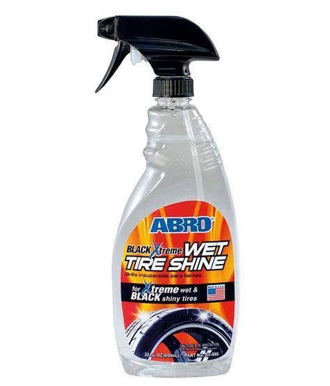Shoo Clear 680 Ml abro black tyre shine bx 999 680 ml microfiber cloth buy abro black