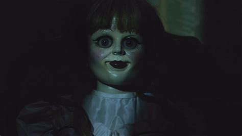 annabelle doll voice annabelle creation trailer gives the conjuring s creepy