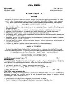 Entry Level Business Analyst Resume Exles by Entry Level Business Analyst Resume Sle Ilivearticles Info