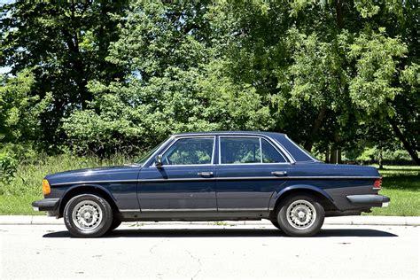 1984 mercedes 300d turbo diesel shiny side