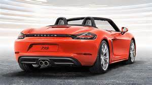 Porsche Rate Porsche 718 Cayman 718 Boxster Officially Launched In