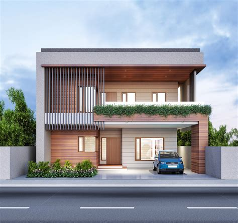 Fusion House by Renders Exterior On Behance