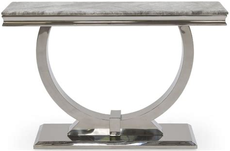 grey table l base buy vida living arianna grey marble console table with