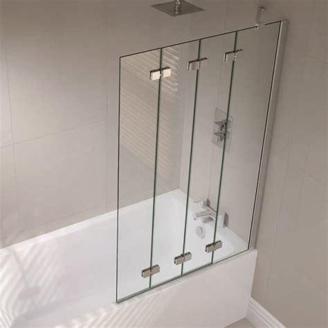 april bath and shower website buy april prestige frameless 4 panel folding bath screen