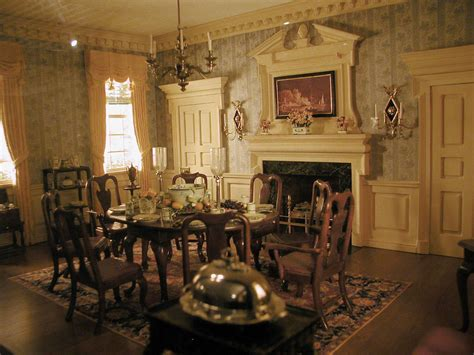 colonial dining room miniature room boxes kupjack gallery