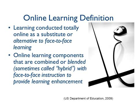 Distance Mba Means by Learning Evaluation Ppt