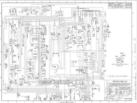 2007 freightliner century wiring diagram free