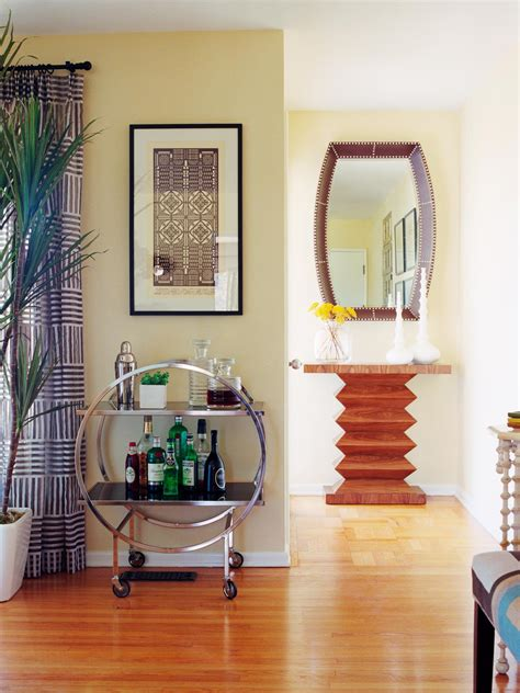 Yellow Foyer by Photo Page Hgtv